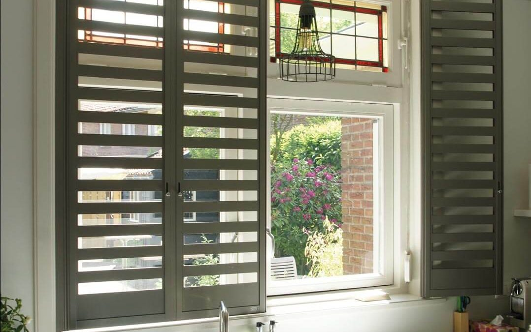 Aluminium shutters – Fraction – Unilux