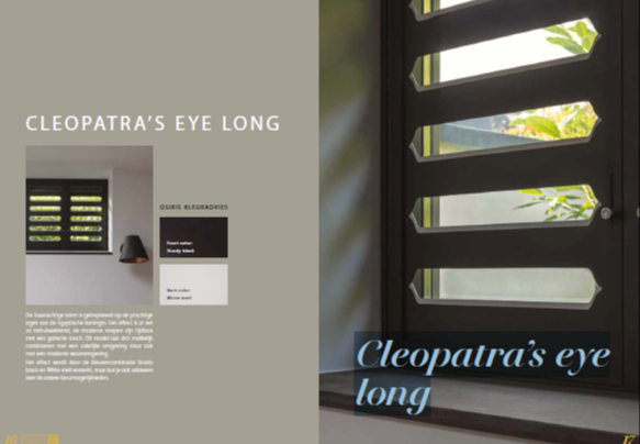 Fractions Cleopatra's eye long